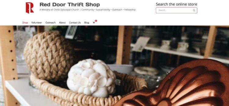 New Red Door Thrift Shop Website!